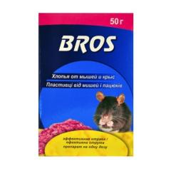 Flakes from mice and rats, bros of 250 grams