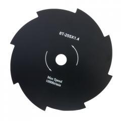 Disk of metal 8 blades