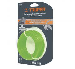 String for the trimmer 2 of mm of 15 m, truper