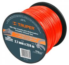 String for the trimmer, the coil 2,7mm 224 of m,
