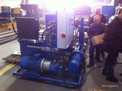 Hydraulic press of BISON II Speedy 300