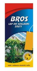 Sticky leaf for greenhouses, bros of 10 pieces.