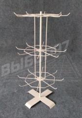 Стійка - вертушка для брелків, для біжутерії