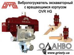 Вибропогружатель із обертовим корпусом OVR HG