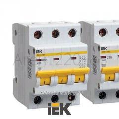 Автоматический выключатель ВА47-29 3P 50 А 4.5 кА