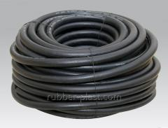 Reinforced rubber hoses
