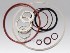 Products from silicone-rubber compounds