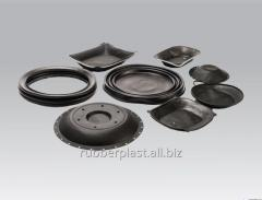 The rubber diaphragm