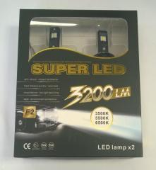 LED automobile lamps of SUPER LED 9006/9007 3200