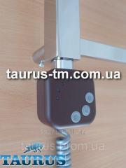Квадратный коричневый ТЭН HeaterQ с регулятором и