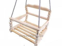 Гойдалка дитяча дерев'яна 30 * 30см