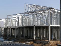 Легкие стальные тонкостенные конструкции (ЛСТК)