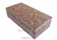 The stone blocks length, sawn and chipped from a