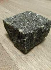 The stone blocks chipped length is 50 mm, width is