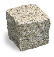 The stone blocks chipped length is 100х100х100 mm,