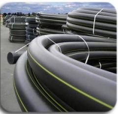 Трубы ПЭ газопровод. Трубы для подачи горючих