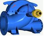 Pumps centrifugal a bilateral entrance like D, 1D