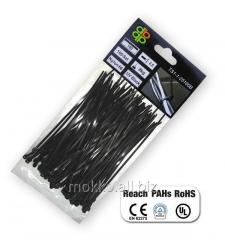 Couplers cable plastic black UV Black of 8,8*750
