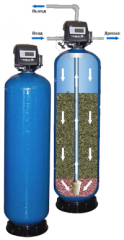 The filter coal for water (adsorptive)
