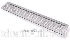 Aluminum ventilating grate