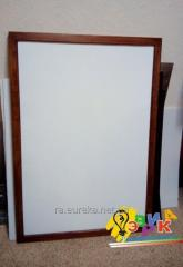 Board flipchart 100Х120 in a brown frame