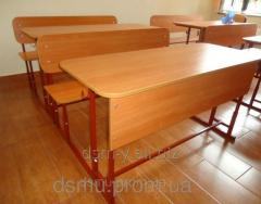 School desk double the Standard (2-seater) with a