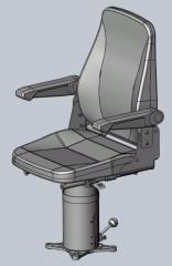 Кресло машиниста КЛ-7500М.0-02