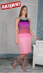 Dress in a strip