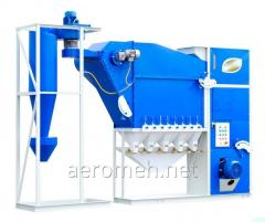 Grain cleaning machine CAD-10 with the...