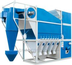 Grain cleaning machine Aeromeh CAD-150 with the cyclone