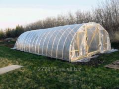 Polyethylene film for greenhouses