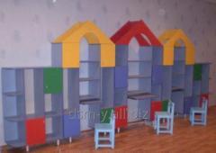 Шкафы,  стеллажи,  вешалки детские
