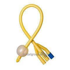 Foley's catheter of three-running Ch/Fr 16,