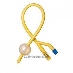 Foley's catheter of double-thread Ch/Fr 6, 8,