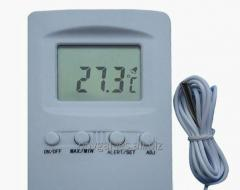The thermometer electronic for saunas and baths