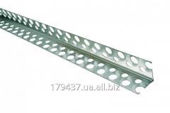 Угол перфорированный алюминиевый ( стандарт)