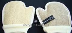 Mitten for a peeling bilateral.