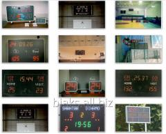 Sports board, board of electronic turn, hours