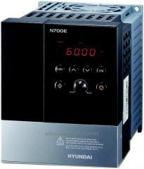 Frequency regulator of the Hyundai N700E