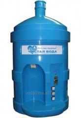 Automatic machine for water sale module of pouring
