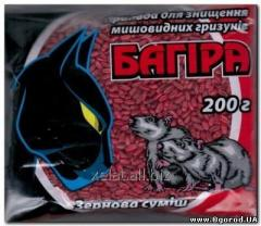 Bagira grain, rodenticide, 100 g, 200 g
