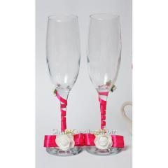 Wedding glasses of Elin B-Elin