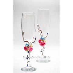 Wedding glasses of Rosalie B-Rosalie