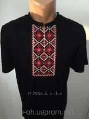 T-shirt short sleeve black man's