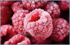 Малина замороженная,  ягоды малины замороженн