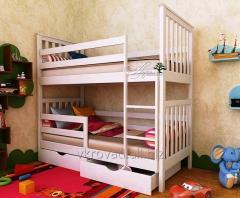Bed nursery Romeo Plus 70*140 (Natural tree)