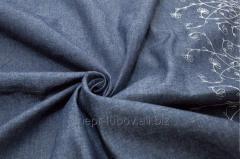 Саржа c пропиткой ВО 150 см, 260±5 г/м2, тёмно-синий