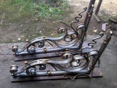 Консоль балкона кованая
