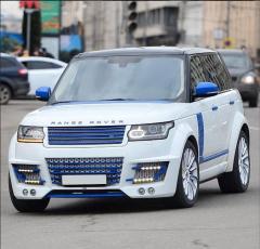 Тюнинг обвес спойлер диски Range Rover Sport /