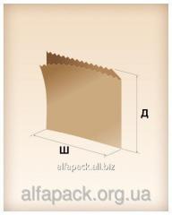 Paper package of a sachet corner big